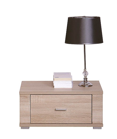 GRESS noční stolek 1s dub sonoma