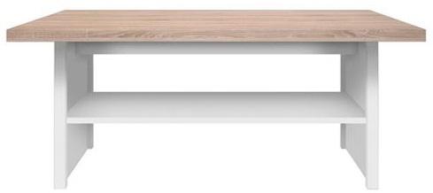 TOP MIX konferenční stůl 115 dub sonoma/bílá